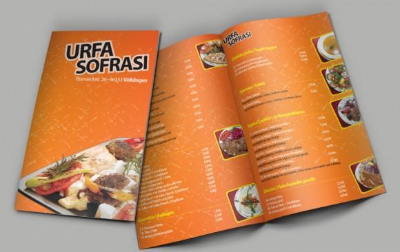 Urfa Sofrası Broşür Tasarımı