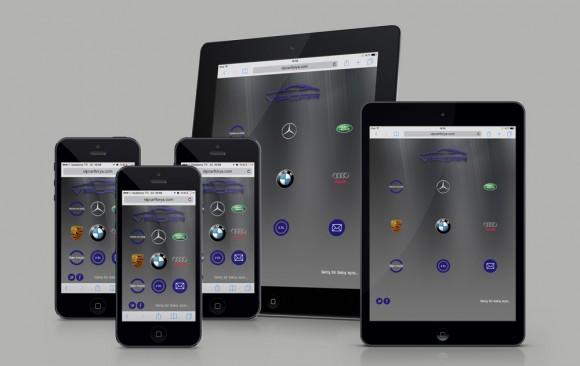 VIPCAR Florya Mobil Web Tasarımı