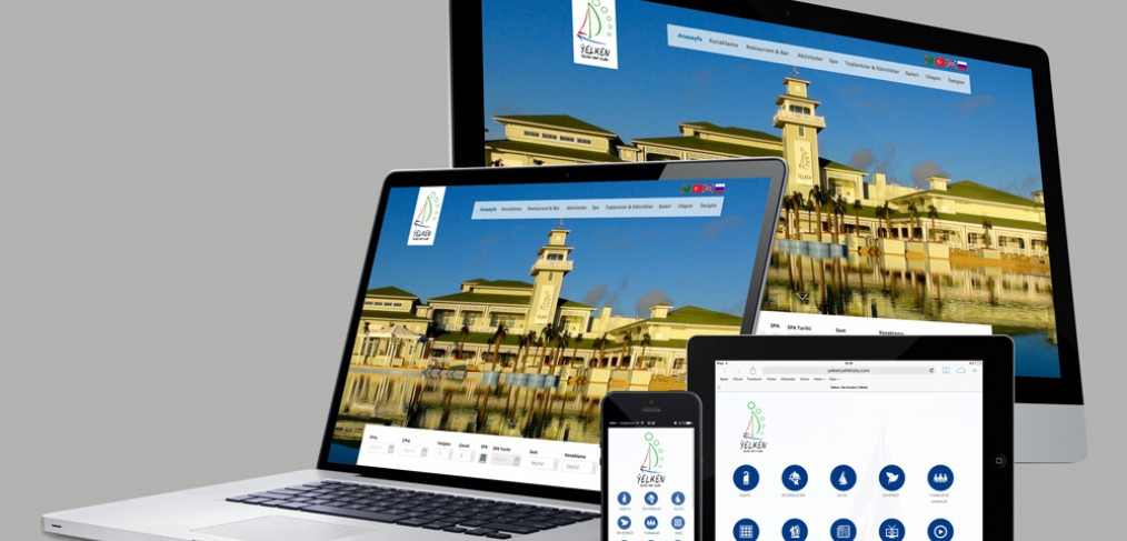 Yelken Yaht Kluby Web Site Tasarımı ve Mobil Site Tasarımı