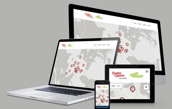 Ziyafet Çiğköfte Proje Web Tasarımı